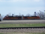 BNSF 4337 & BNSF 5160 Idle in the BNSF Yard