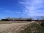 BNSF Work Train Laying New Rails