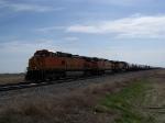 Westbound Manifest Train at 65mph