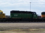 BNSF 6369 Was One of at Least a Dozen Motors in Storage