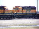 BNSF 6799 Was One of at Least a Dozen Motors in Storage