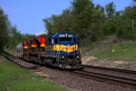 IC&E/KCS Grain Train