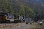 EB CSX Coal Train
