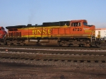 BNSF 4723 sporting Microsoft Train Simulator Decals on front hood