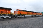 BNSF 7295 and BNSF 7292 pass me on the Z PTL-CHI Train.
