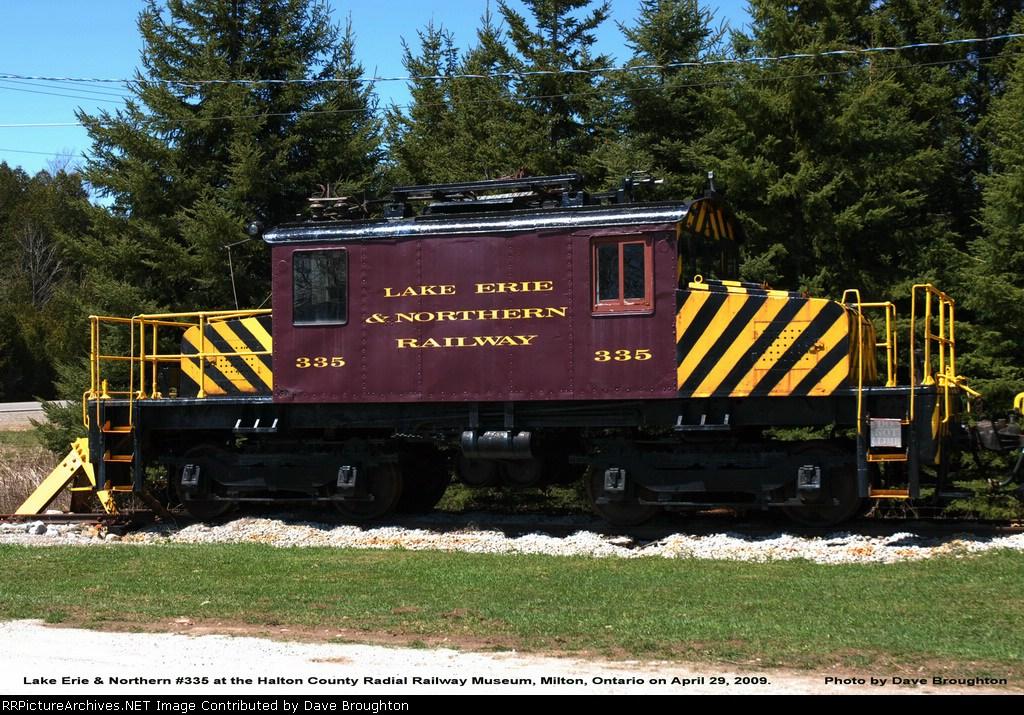 LE & N #335 - Milton Radial Railway Museum