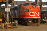 CN #9171 at the Elgin County Railway Museum, St. Thomas, ON.