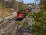 CN 4129 & CN 7007 - Westbound from Burlington into Hamilton