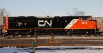 CN #8879 - the 1st of two new SD70M-2's delivered to the yard.