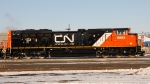 CN #8883 - the 2nd of two new SD70M-2's delivered to the yard.
