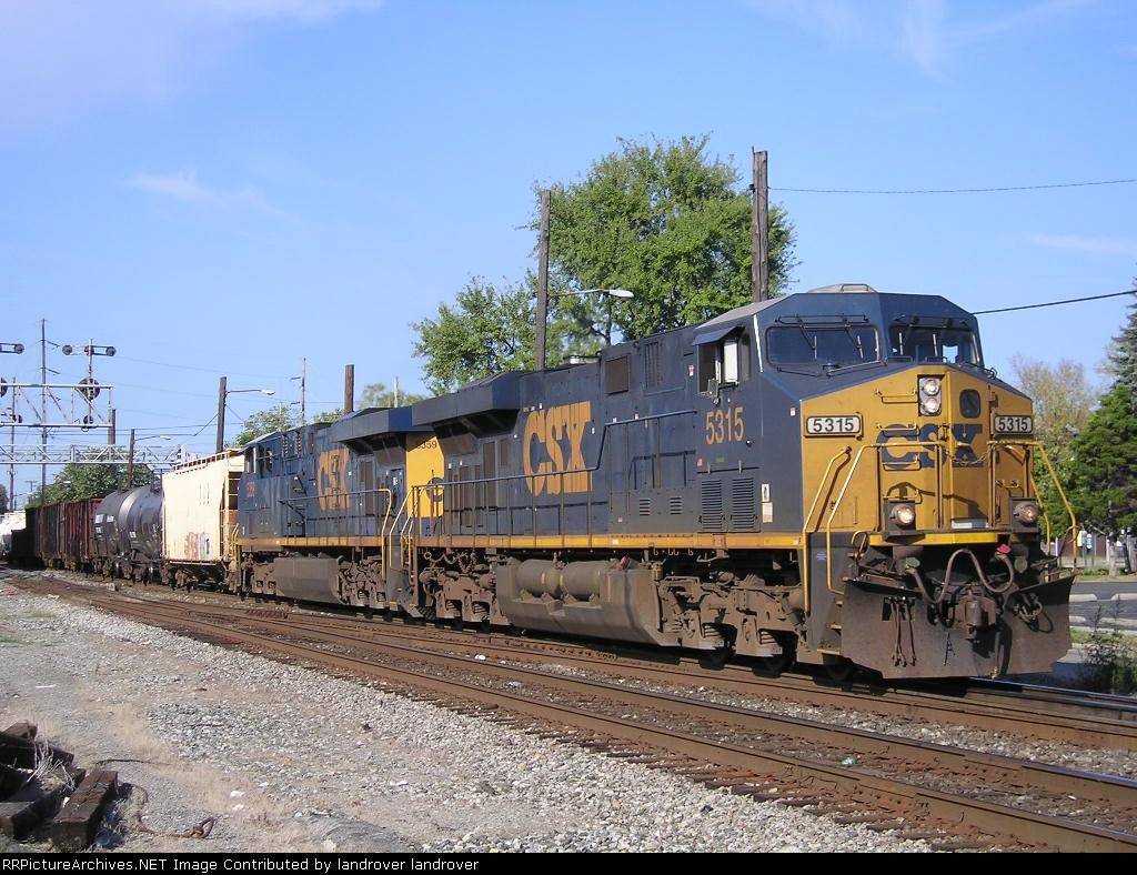 CSXT 5315 On CSX J 783 Southbound