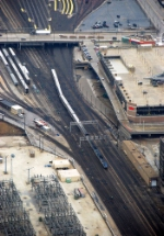 Amtrak from Sears Tower