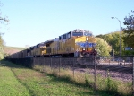 Westbound UP Coal Train
