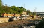 BNSF-KCS meet at the Gooseneck