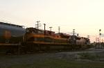 KCS run through arrives at dusk