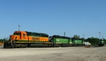 Stored SD40-2's