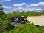 Norfolk Southern 6199 and 864 