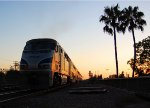 Amtrak 587 Highballs into the Sunset