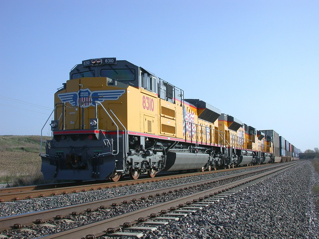 Brand NEW UP's EMD SD70ACe's
