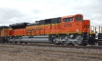 BNSF 9178, SD70ACe with Isolated Cab westbound