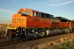 BNSF 9378, New SD70ACe makes its first trip westbound