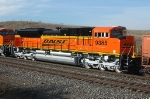 BNSF 9385, New SD70ACe makes its first revenue run west