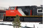CN 8936, EMD SD70M-2, new louvre vents