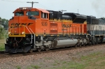 BNSF 9389, NEW SD70ACe leading northbound coal loads