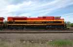 KCS 3997, ex EMDX 71, sits at the BNSF Yard
