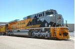 UP 1989, EMD SD70ACe, DRGW Heritage unit, NEW at the UPRR's unveiling ceremony