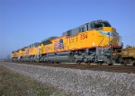 UP 8314, UP 8315, and UP 8310 NEW EMD SD70ACe's