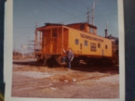 SCL Caboose Myrtle Beach SC on December 8th 1977