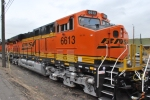 BNSF 6613 new ES44C4 in the consist with BNSF 6612 AND 6611.