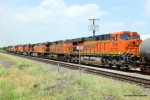 BNSF 7259 takes up the rear of a northbound manifest/power move