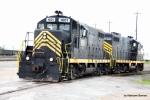 PREX 1601 & 1601 work the KCS Intermodal facility for ITS
