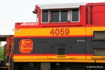KCS 4059 cabside closeup