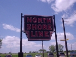 North Shore Line Milwaukee Terminal sign