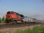 BNSF leading Amtrak