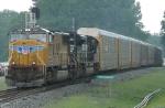 Trains and rain