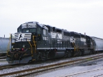 Norfolk Southern 5660 and 3041