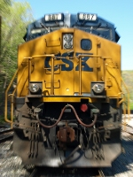 The last thing any railfan wants to see.