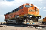 BNSF 5752 wrecked a few miles east of Alliance Nebraska