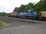 And to Top it All Off a Conrail Blue Unit