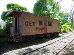 Brandywine Scenic Railroad Caboose