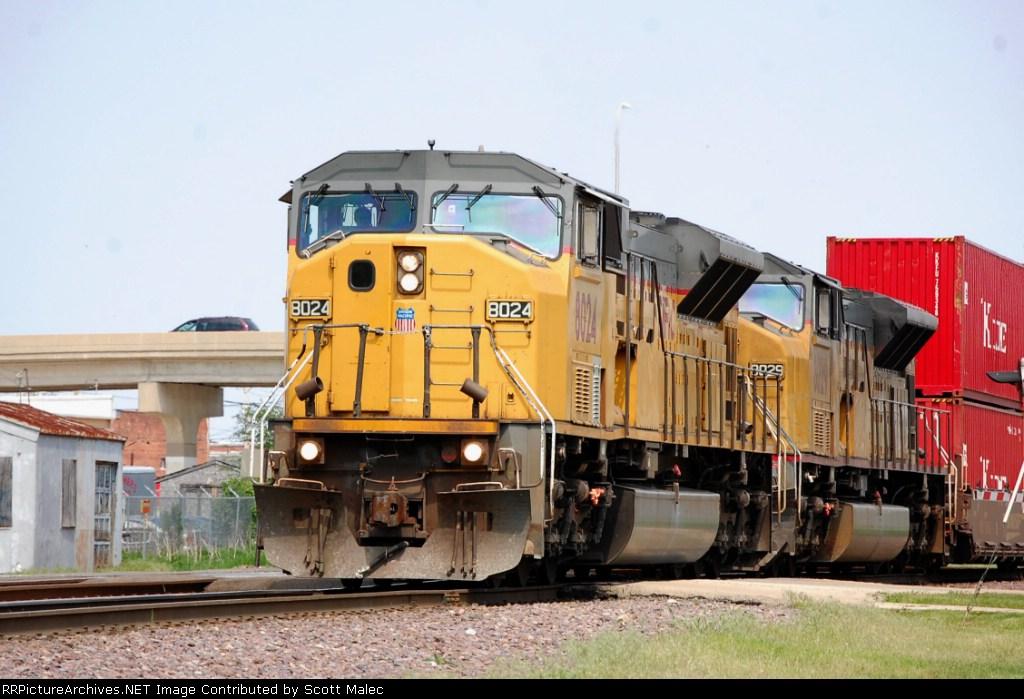 UP 8024 & 8029