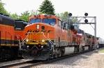 BNSF 7484, 627, 997 & 7307