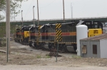 A Line Of Units At The IAIS Yard