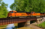Crossing Calumet Creek