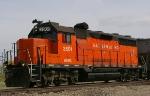 WAMX 3501 on the Eastern Idaho Railroad