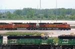 BNSF 4108 & 4887
